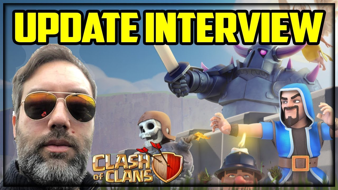 EXCLUSIVE Update Interview - NEW Info on the Next Clash of Clans UPDATES!