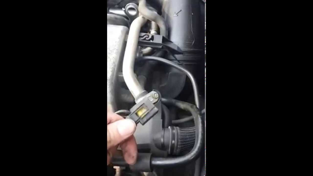 Mercedes Benz W124 230e Wiring Diagram Basic Nucleotide Structure How To Change The Crankshaft Position Sensor 1999 E320 W210 4matic Wagon Part 1 Youtube