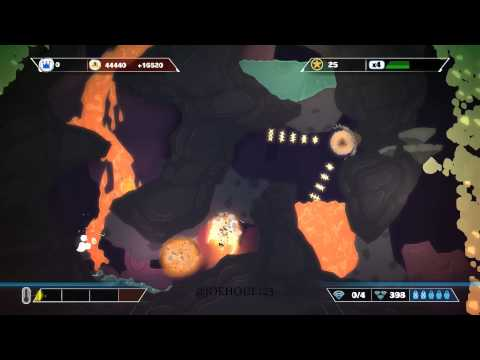Pixeljunk Shooter Ultimate: Headed Home - Need A Vacation? (No Boss) |