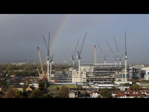 New Spurs Stadium HD Time Lapse - 15th to 21st October 2017