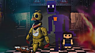 METIENDO un ALMA dentro de WITHERED CHICA | Five Nights at Freddy's: Killer in Purple