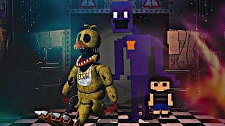 METIENDO un ALMA dentro de WITHERED CHICA | Five Nights at Freddy's: Killer in Purple