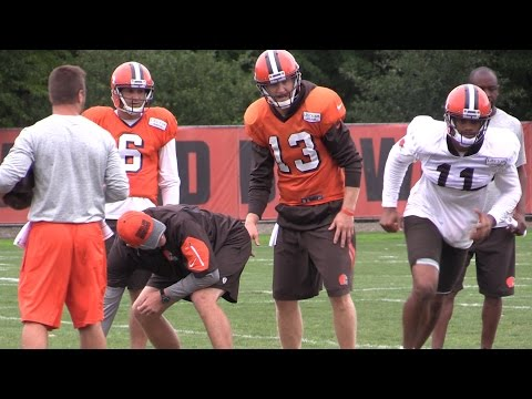Josh McCown prepares to start in Browns vs. Ravens (videos)