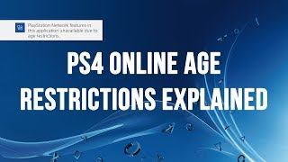 PS4's Online Age Restrictions Explained - Why You Can't Play Fortnite If You're Under Age