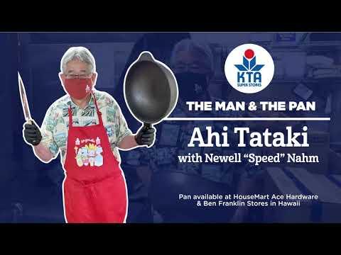 "Man & The Pan - Ahi Tataki with Newell ""Speed"" Nahm"