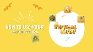How to use your SWAP STAND TOKENS in Festival Guru card game