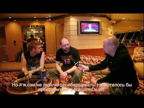Anaal Nathrakh 70000 Tons of Metal 2013 interview