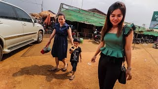 Cambodia REAL LIFE in Siem Reap's Rural Province