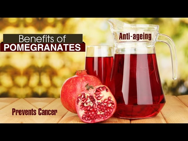 10 Amazing HEALTH BENEFITS OF POMEGRANATE (ANAR)
