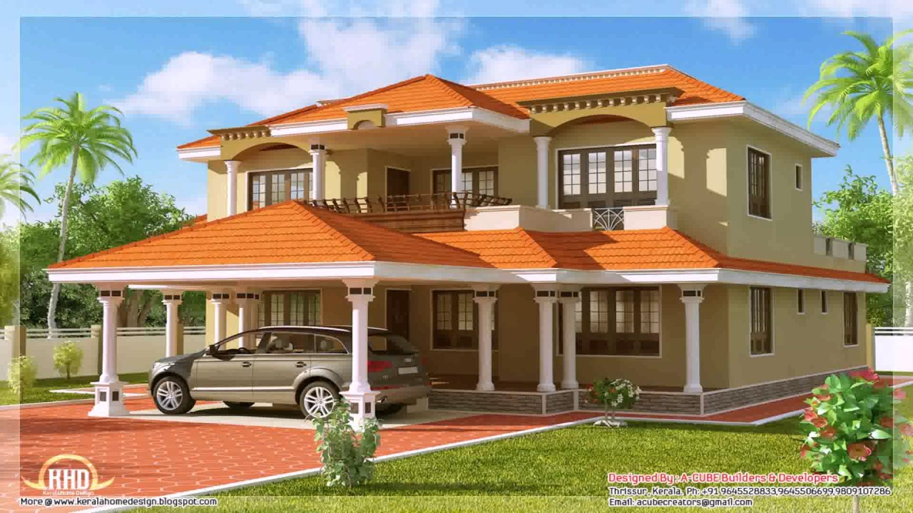 House Porch Design In India - YouTube
