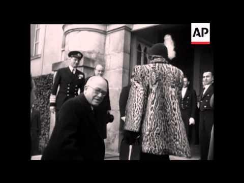 KING FREDERICK OF DENMARK - NO SOUND