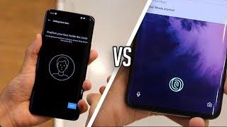 OnePlus 7 Pro: Face Unlock vs In-Display Fingerprint Scanner Test & Comparison