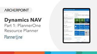 PlannerOne Resource Planner - Part 1