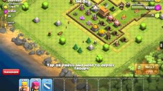 half clash of clans part 1