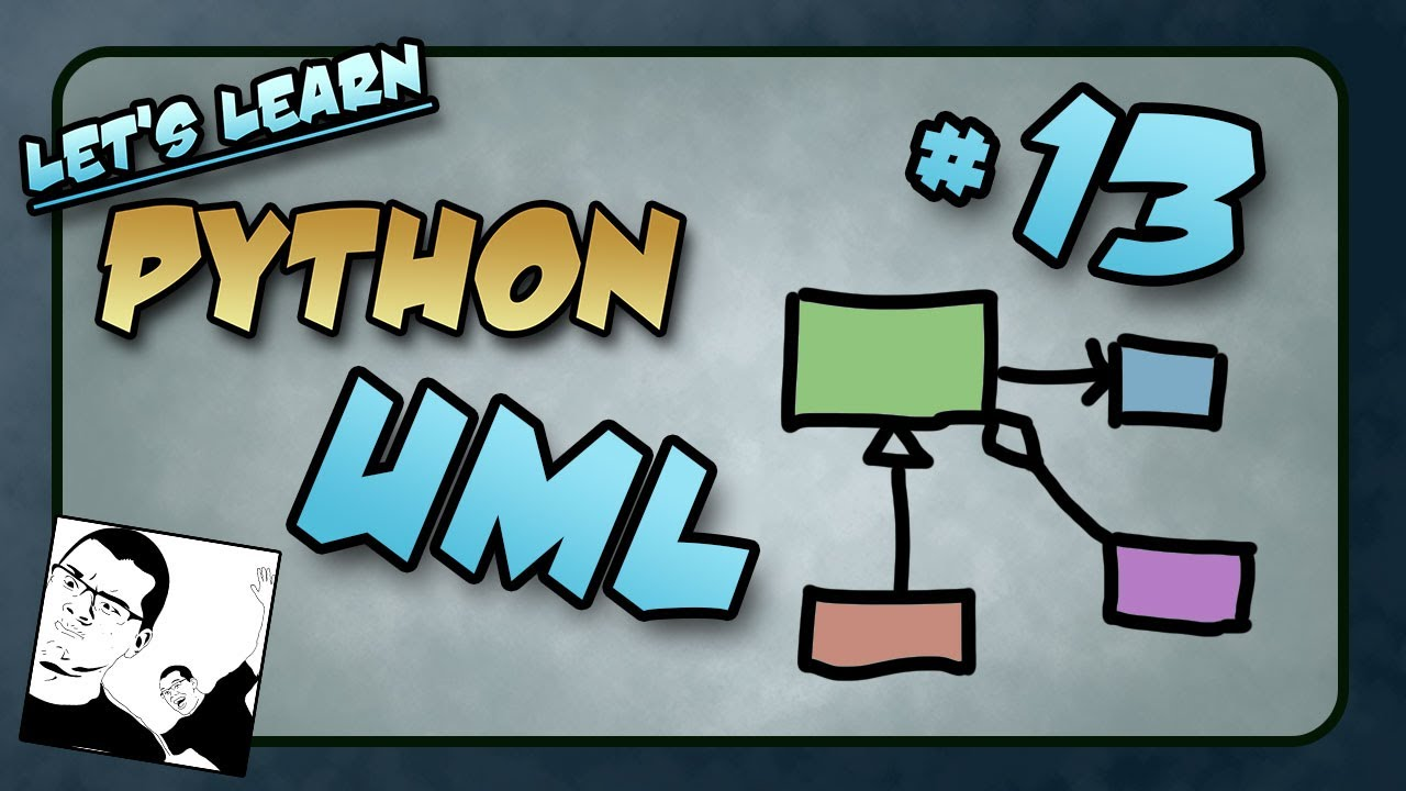 Let's Learn Python #13 - UML - Unified Modeling Language ...