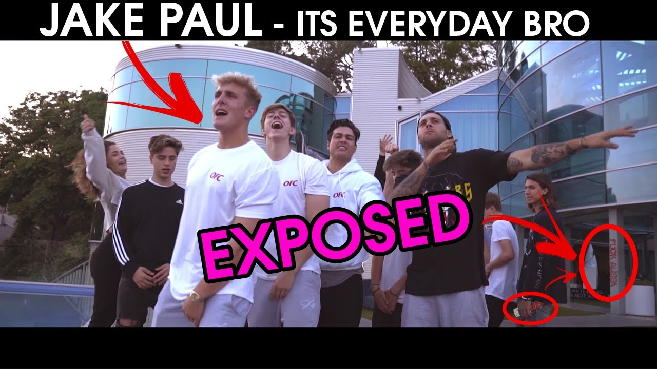 Exposed Jake Paul Its Everyday Bro Feat Team 10 The T