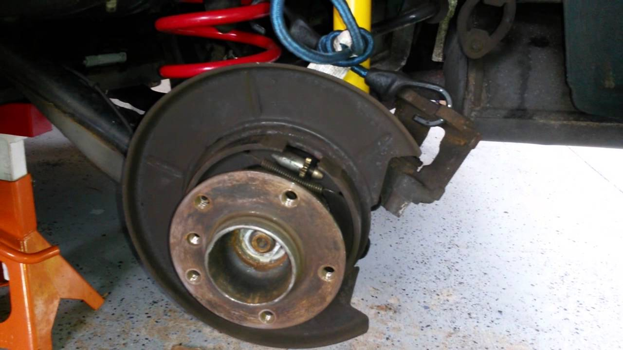 Bmw Parking Brake Adjustment Youtube