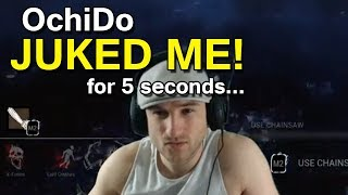Dead by Daylight WITH...BILLY! - OchiDo JUKED ME! for 5 seconds... (full match)