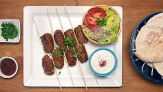 Spicy Lamb Kofta Kebabs – Pocket Friendly Recipes