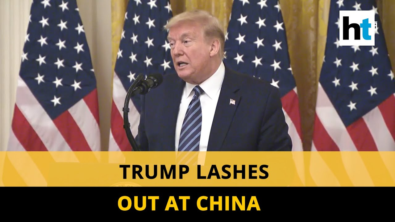 Seen proof of Covid-19 link with Wuhan lab': Donald Trump slams China - YouTube
