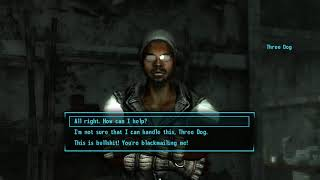 Fallout 3, BLIND; Session 2, Part 1. Rushing in like a moron!