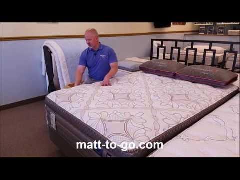 Beducation® - Therapedic® Hummingbird™ Silver Falls Pillowtop