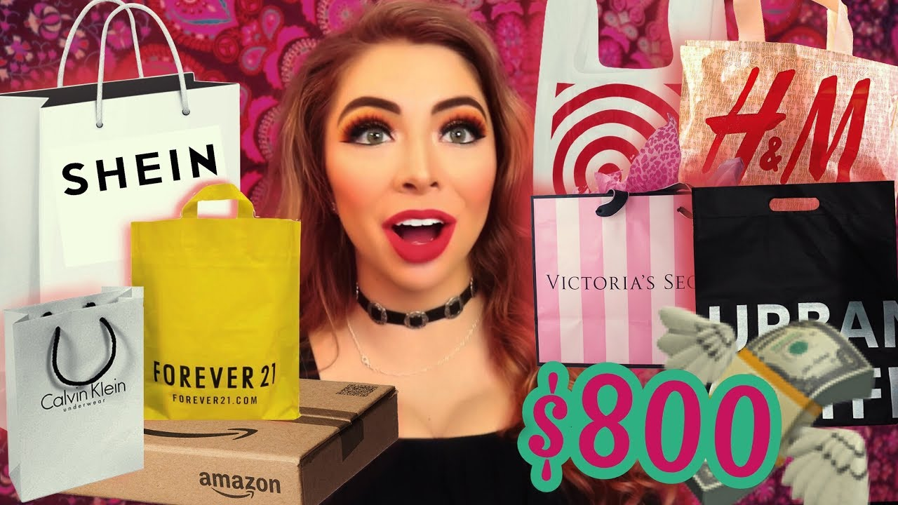 $800 Clothing HAUL! OMG! Shein, Forever 21, Urban Outfitters, VS Pink, and More!