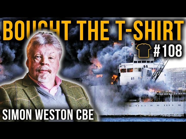 Simon Weston CBE | Falklands War | Welsh Guards | Resilience | Bought The T-Shirt Podcast #108