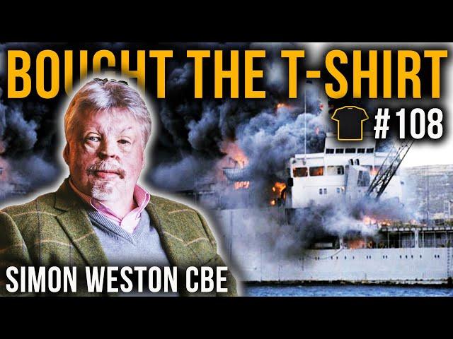 Simon Weston CBE | Falklands War | Welsh Guards | Resilience | Bought The T-Shirt Podcast #108