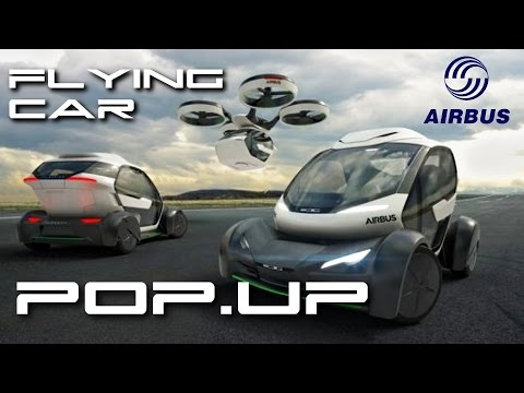 Flying Car Drone Hybrid Pop.up - Behold The Future