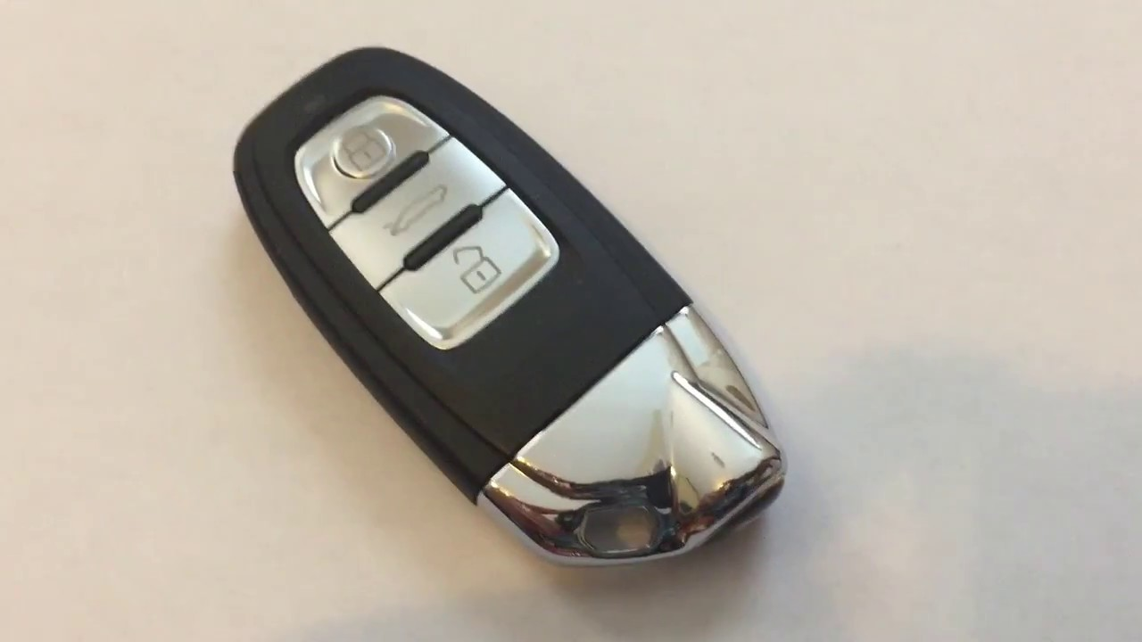 Audi Key Battery >> EASY LAMBO DIY: How to replace the BATTERY in a LAMBORGHINI (AUDI) SMART KEY REMOTE! - YouTube