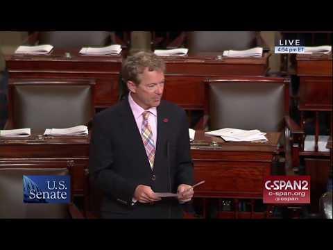 Rand Paul Speech Highlights On Republicans Actually Reducing the Debt