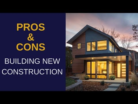 Pros & Cons of Buying #NewConstruction - #SeanandBlanca #eXpRealty