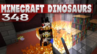 Minecraft Dinosaurs! || 348 || Ouch this hurts!