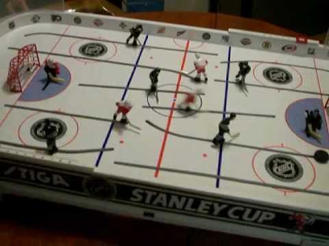 NHL HOCKEY Stiga Stanley Cup edition - YouTube