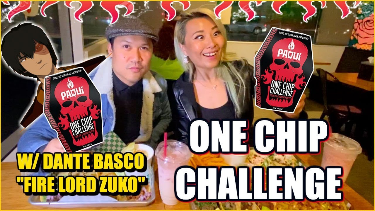 One Chip Challenge With Dante Basco Fire Lord Zuko Rufio Rainaiscrazy