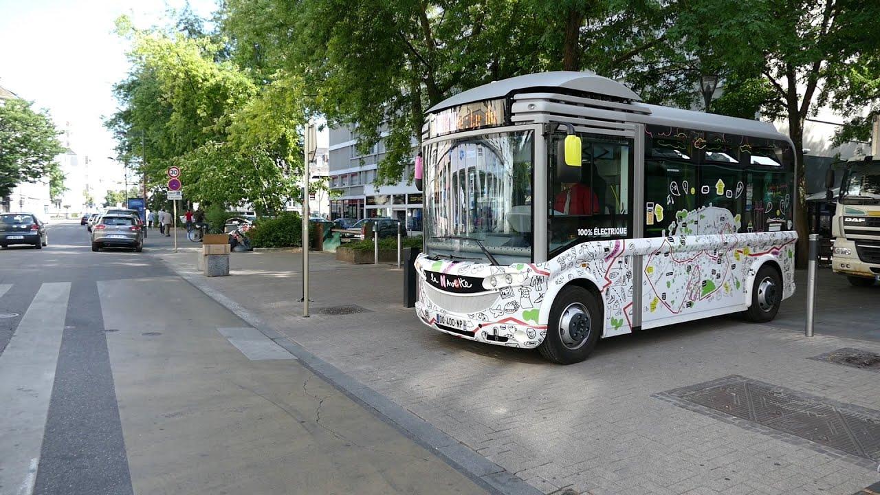 Navette centre ville Mulhouse. En accéléré 5X