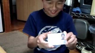 【リョウイチ】 アマチュア無線4級 免許届きました!! thumbnail