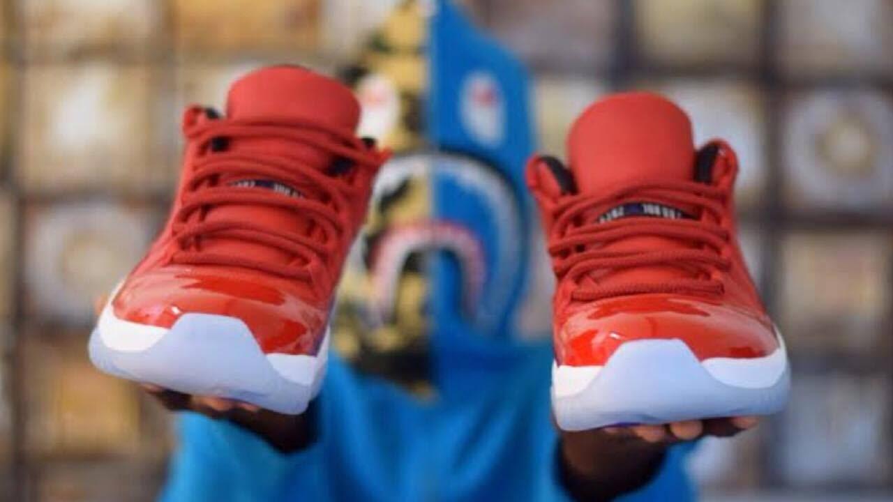 Custom Air Jordan 11