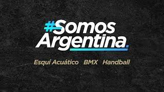 #SomosArgentina – Hoy Esquí Acuático, BMX y Handball
