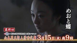3月15日(火)夜9時放送】 小野ゆり子主演の「めおと蝶」。信乃は知也を想...