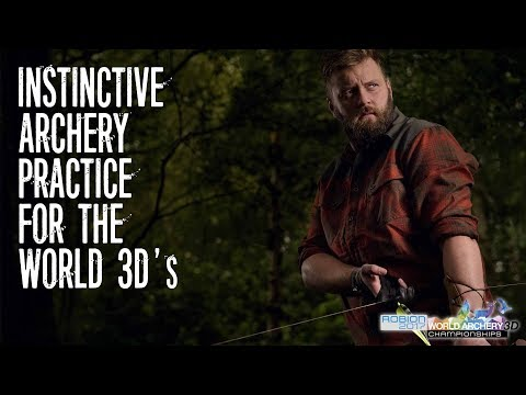 Instinctive archery practice: For the World 3D's The Grizzly Jim Way