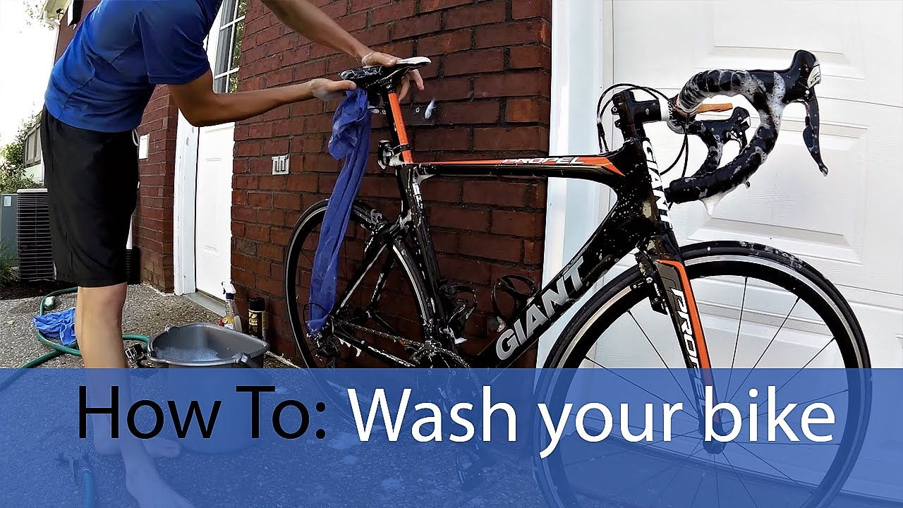 How to wash your road bike