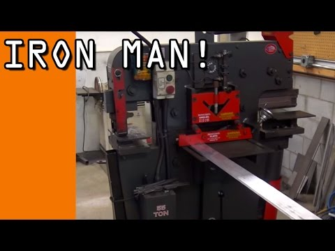 What Is An Iron Worker? An AWESOME Machine!