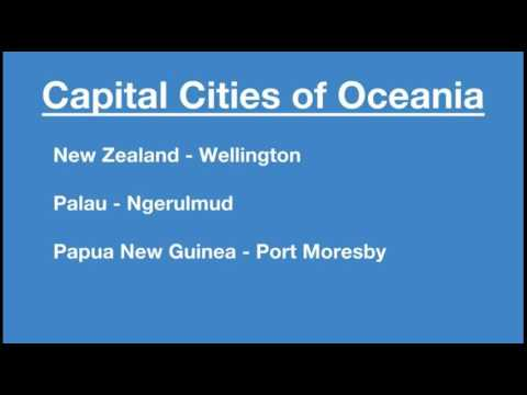 Capital Cities of Oceania