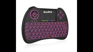 Review on AuviPal R9 2.4GHz Mini Wireless Keyboard Mouse Combo Android & PC