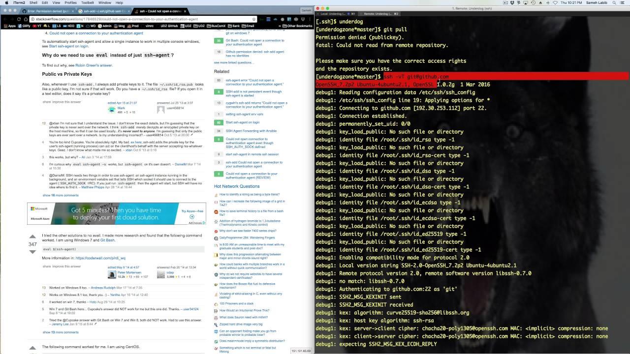 GitHub solution to SSH permission denied