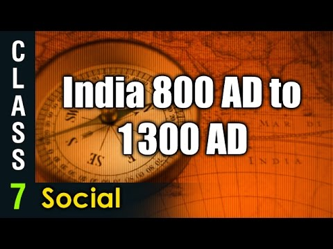 India 800 AD to 1300 AD| 7th Social Studies | Digital Teacher