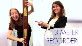 THE WORLD'S BIGGEST RECORDER!