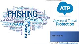 Gambar cover Phishing Email Attacks and Microsoft ATP Live Demo Part1